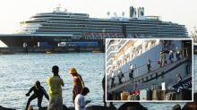 Cruise passenger tests positive for coronavirus after hundreds disembark