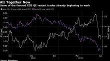 Bond Investors Dust Off Crisis Playbook as Draghi Spurs QE Bets