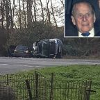 Prince Philip, 97, Involved in Car Crash That Overturned His Range Rover Near Sandringham Estate