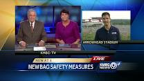 Arrowhead prepares for 1st test of new NFL bag policy