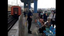 快新聞/男子不慎跌落鐵軌死亡 板橋浮洲北上列車延誤