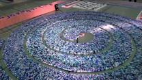 Group sets new domino-toppling world record