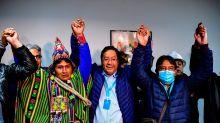Los sondeos a pie de urna dan el triunfo en primera vuelta al partido de Evo Morales en Bolivia