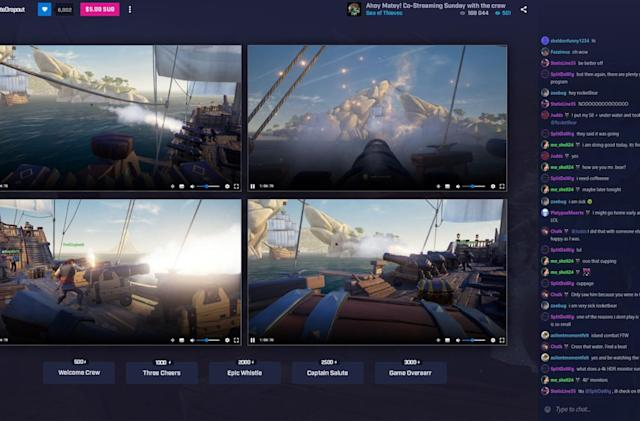 Microsoft's Twitch competitor gets a new name and co-op streaming