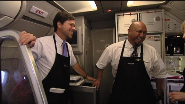 Undercover Boss - Bonus Scene: Cookies on Frontier Airlines