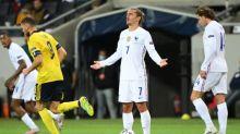 Foot - Bleus - Bleus: la baisse d'influence d'Antoine Griezmann contre la Suède