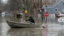 Mittlerer Westen der USA kämpft gegen historische Fluten