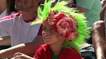 Portugal fans react after early World Cup exit