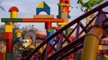 Disney World Winds the Frog with Toy Story Land