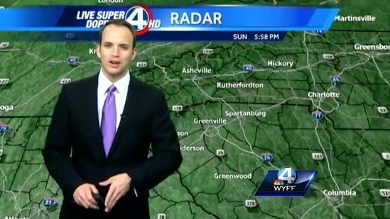 Chris' Forecast for May 12, 2013