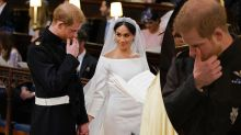 Diana tribute song brings Prince Harry to tears at royal wedding