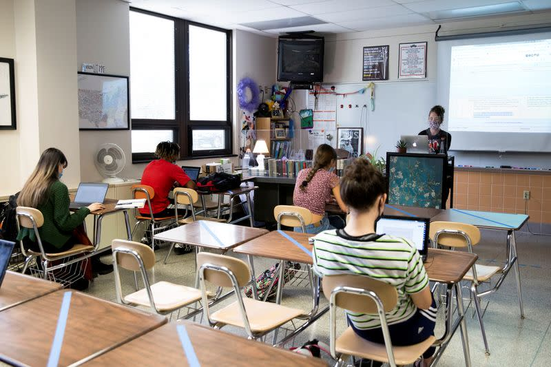 FILE PHOTO: York Suburban schools resume with hybrid in-person and online classes