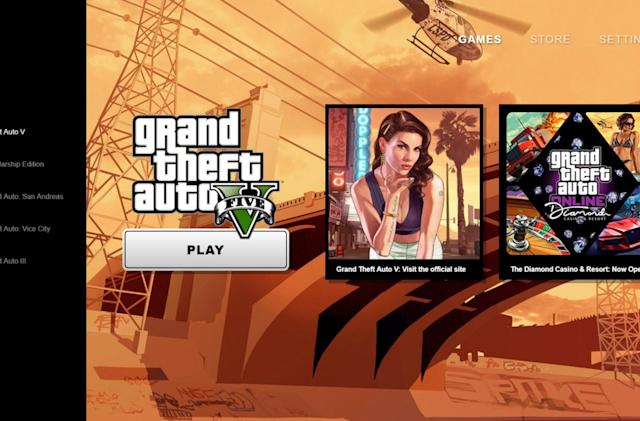 Rockstar rolls out its own PC games launcher