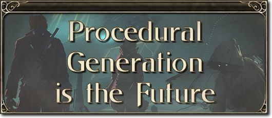 MMO Mechanics: Procedural generation is the future