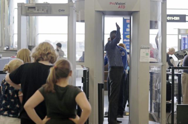 Full-body TSA scans are mandatory for 'some passengers'