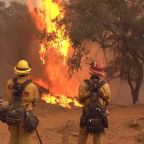Firefighters battling California wildfires face hardships of their own