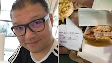 Man's disgusting find halfway through eating McDonald's chicken burger