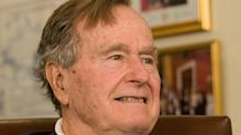 Ex-president George H.W. Bush recovering in hospital after breathing problems
