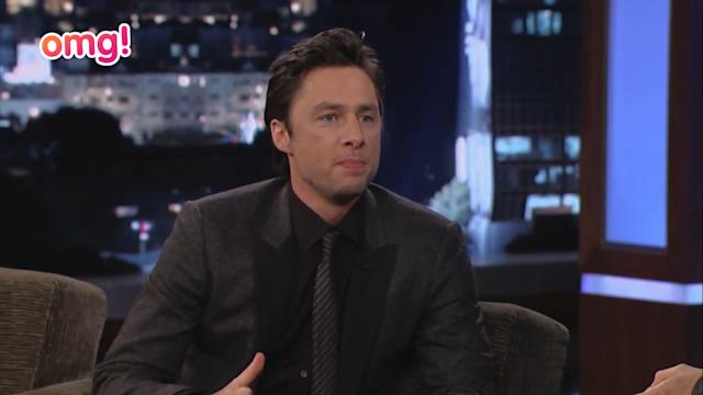 Zach Braff kept James Franco laughing on set