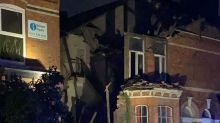 House partially collapses after thunderstorms and flash flooding hit UK