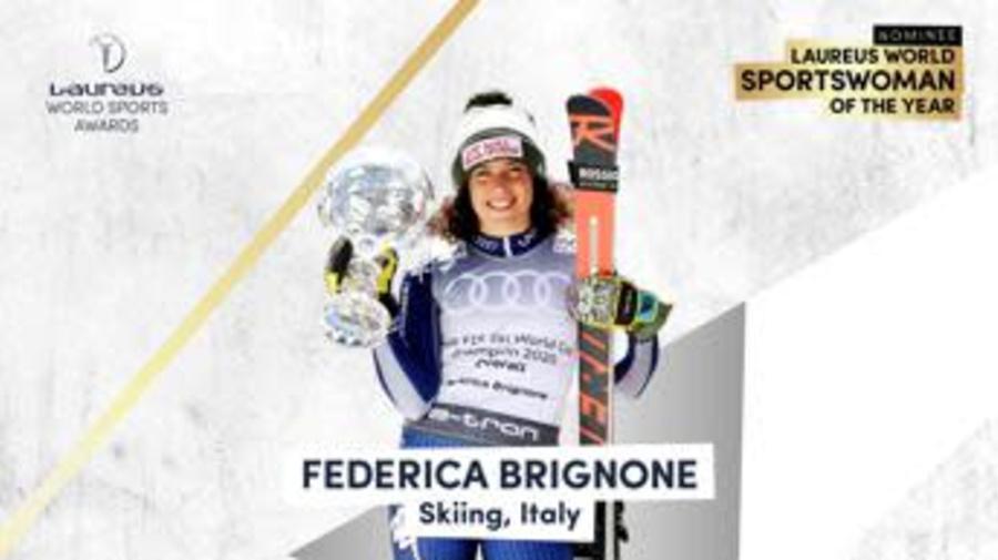 Brignone in nominations ai Laureus Sport Awards come sportiva dell'anno