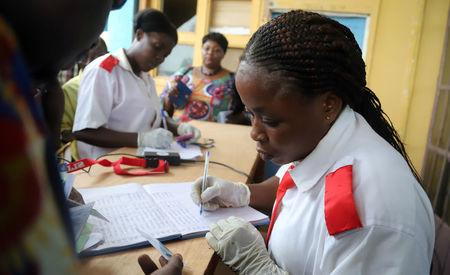Almost all in Congo city at immediate risk of Ebola now vaccinated WHO