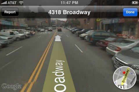 iPhone software 2.2 features Google Street View, mass transit directions