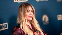 Hilary Duff said it was 'a little isolating' being the first of her friends to have a baby