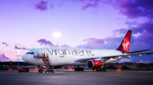 Virgin Atlantic releases mesmerising timelapse footage of aircraft getting new paint job