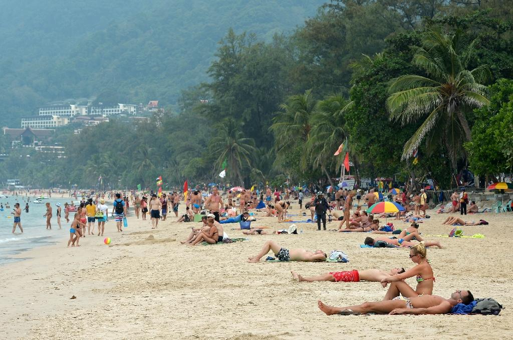 Thailand is a major holiday destination for Russian tourists, particularly during the peak Christmas and New Year holidays (AFP Photo/Pornchai Kittiwongsakul)