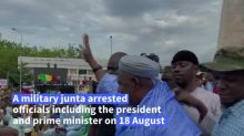 Mali opposition figure hails military at post-coup rally