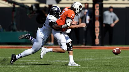 TCU halts Oklahoma State in its tracks