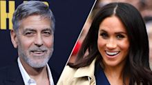 George Clooney issues warning to Meghan Markle following royal birth