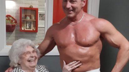 Stripper im Altenheim: Wunsch von Rentnerin (89) erfüllt