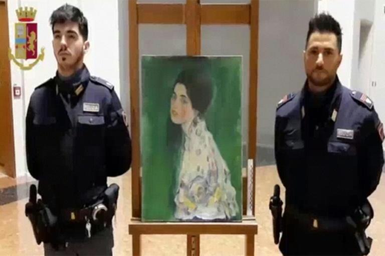 Stolen painting found in Italian art gallery's walls confirmed as Klimt