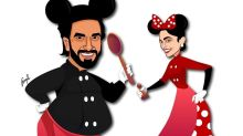 Presenting Ranveer Singh and Deepika Padukone as Mickey and Minnie Mouse