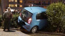Ubriaco al volante a Verona, l'uscita dal parcheggio e poi lo schianto