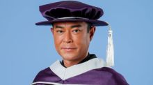 Jacky Cheung, Louis Koo, Wong Cho Lam receive academic honour