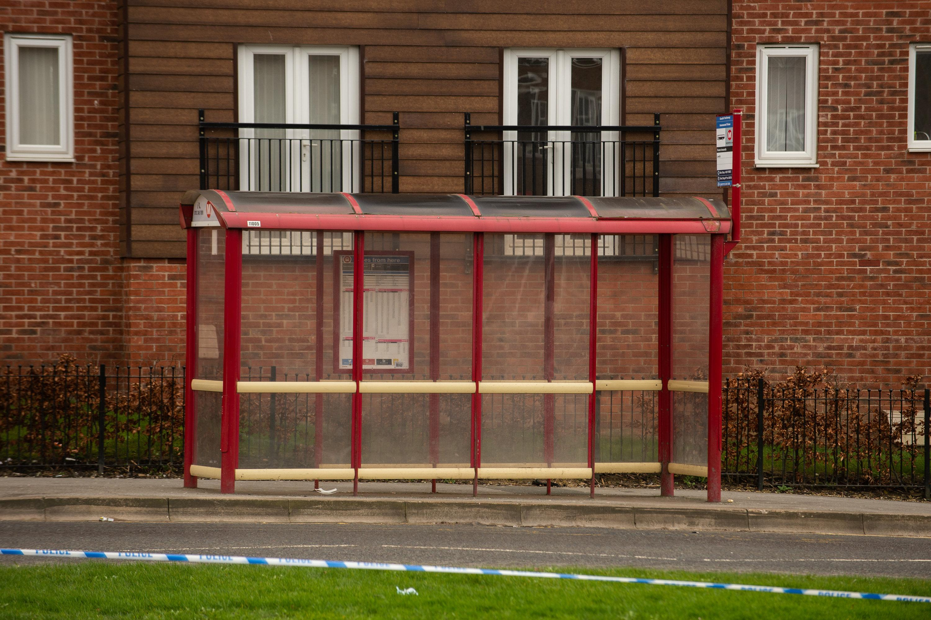 Woman, 19, dies after being found unconscious at bus stop in Leeds
