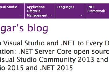 .NET Server Core to go open source, will run on Macs
