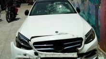 Student in Mercedes car runs over man, angry mob targets Bangalore Alliance University campus
