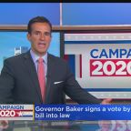 Baker Signs Massachusetts Vote By Mail Bill Into Law