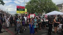 Hundreds attend march for Afrikan Emancipation Day