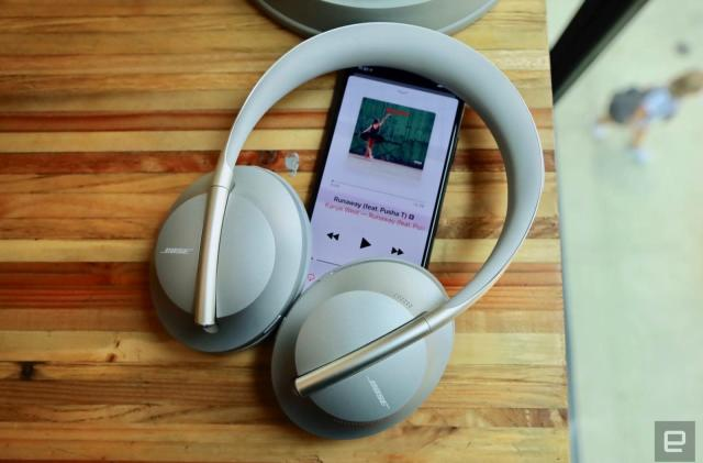 A closer look at the Bose 700 noise-cancelling headphones