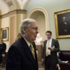 Senate Republicans forced to delay vote on healthcare bill due to lack of support