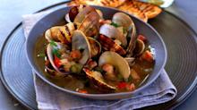 Manhattan Clam Chowder Recipe from'1,000 Foods to Eat Before You Die'