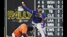 Astros pounce early, send Rangers to 10th straight loss