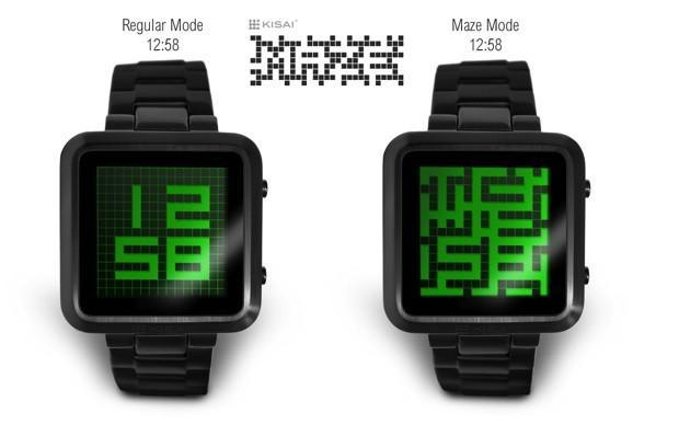 Tokyoflash hides the time inside the Kisai Maze watch for you to find (video)
