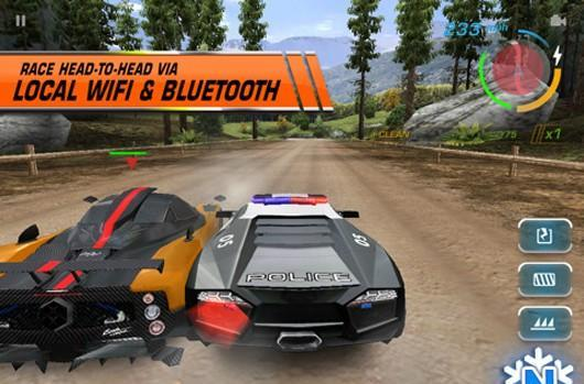 Need for Speed: Hot Pursuit, Monopoly and Snood on iPad