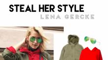 Steal her Style: Der lässige Statement Look von Lena Gercke